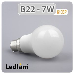 Ledlam B22 LED Bulb 7W 610BP 01 1