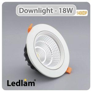 Ledlam Downlight LED 18W COB 1400DP 01