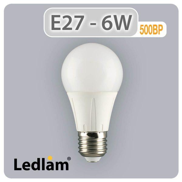 Ledlam E27 500BP 6W LED Bulb 02 1
