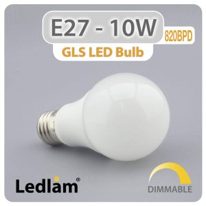Ledlam E27 LED Bulb 10W 820BPD dimmable 01 1