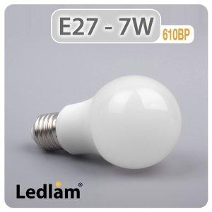 Ledlam E27 LED Bulb 7W 610BP 01 1