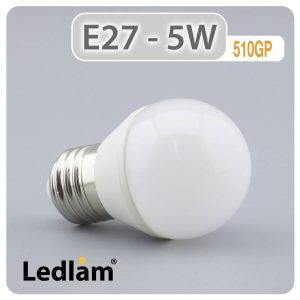 Ledlam E27 LED Golf Ball Bulb 5W 510GP 01 1