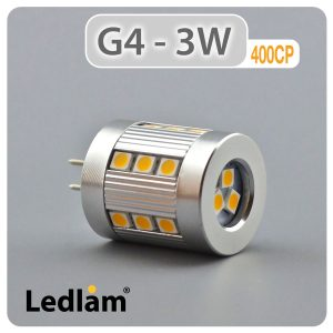 Ledlam G4 400CP 3W LED Capsule Bulb 01