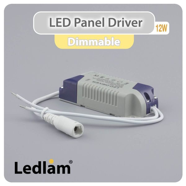Ledlam LED Panel Driver 12W dimmable 30374 01