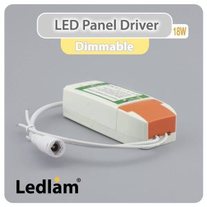 Ledlam LED Panel Driver 18W dimmable 30375 01