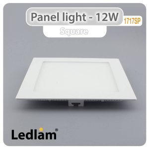 Ledlam LED Panel Light 12W Square 1717SP 01