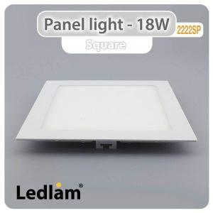 Ledlam LED Panel Light 18W Square 2222SP 01
