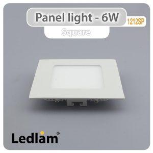 Ledlam LED Panel Light 6W Square 1212SP 01