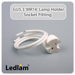 Ledlam MR16 GU5.3 Lamp Holder Socket Fitting 30290 01