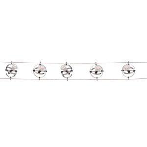 Searchlight 5 LIGHT LED CABLE KIT ADJUSTABLE GYROSCOPE HEADS CHROME 5601 05 LED 01