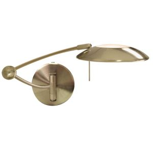 Searchlight ADJUSTABLE SWING ARM WALL BRACKET ANTIQUE BRASS 9851AB 01