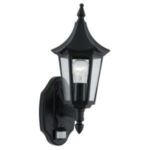 Searchlight BEL AIRE UPLT BLACK 1 LIGHT SENSOR 14715 01