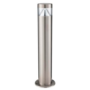 Searchlight BROOKLYN LED OUTDOOR POST 45cm STAINLESS STEEL 8508 450 01