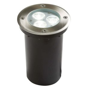Searchlight LED RECESSED INDOOR OUTDOOR WALKOVER STAINLESS STEEL WHITE LED 2505WH 01