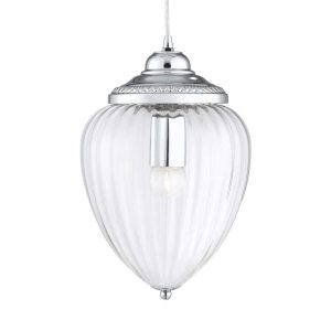 Searchlight LINEN 9 LIGHT MULTI DROP PENDANT CHROME 1939 9CC 01 1