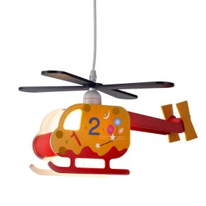 Searchlight NOVELTY CHILDRENS HELICOPTER PENDANT NUMBERED DESIGN 0101 01 1