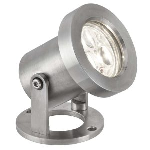 Searchlight OUTDOOR LED IP65 3 x 1W STAINLESS STEEL SPOTLIGHT 6223SS 01