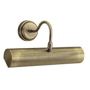 Searchlight PICTURE LIGHT ANTIQUE BRASS 869AB 01