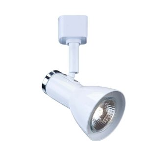 Searchlight SPOT TRACK SPOT FUNNEL HEAD PAINTED WHITE 3709WH 01