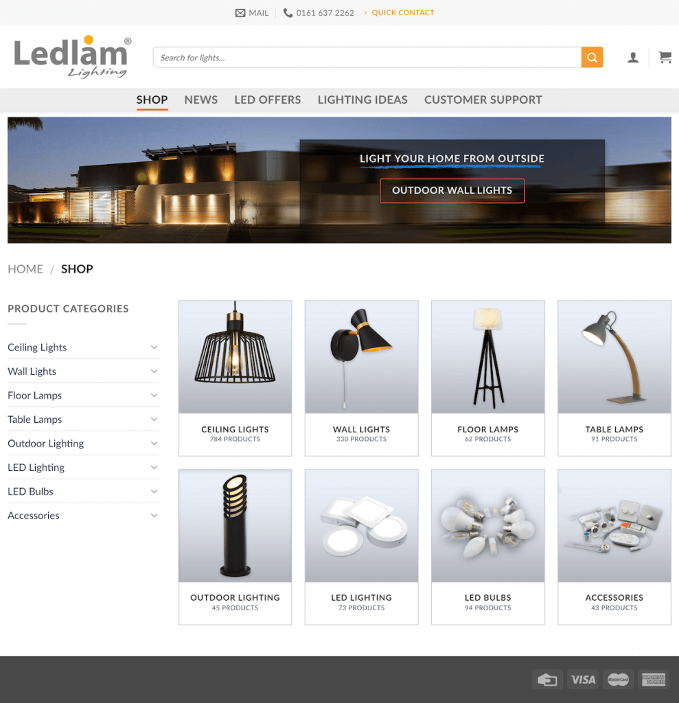 ledlam lighting shop page for video 2018 08 1