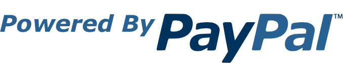 Powered By PayPal Logo