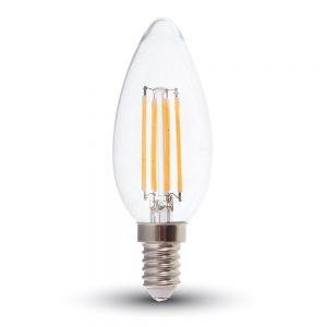 V-TAC-6W-CANDLE-FILAMENT-BULB-CLEAR-COVER-4000K-E14-7424-01