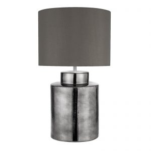 Searchlight-ARTISAN-1LT-CHROME-TABLE-LAMP-GREY-SHADE-5443CC-01