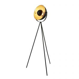 Searchlight-BLINK-1LT-TRIPOD-FLOOR-LAMP-MATT-BLACK-WITH-GOLD-SHADE-INTERIOR-8022BK-01