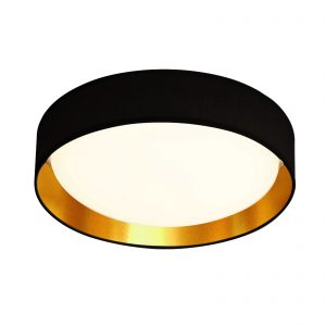 Searchlight-GIANNA-1LT-LED-FLUSH-CEILING-LIGHT-ACRYLIC-BLACK-SHADE-GOLD-9371-37BGO-01