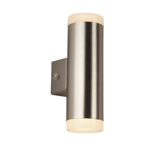 Searchlight-LED-OUTDOOR-2LT-PORCH-WALL-LIGHT-SATIN-SILVER-2100SN-01
