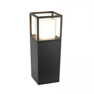 Searchlight-OHIO-OUTDOOR-LED-POST-45cm-Height-DARK-GREY-OPAL-WHITE-CLEAR-DIFFUSER-3843-450GY-3000-01
