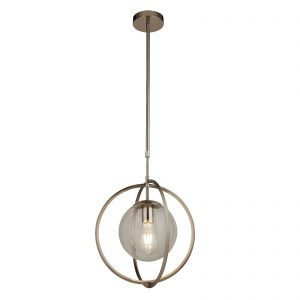 Searchlight-PENDANT-1LT-SATIN-SILVER-AND-CLEAR-8391-1SS-01