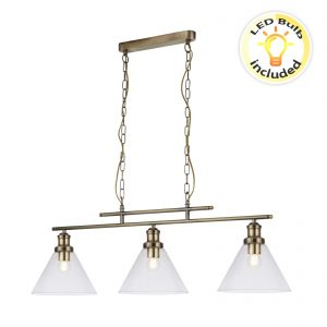 Searchlight-PYRAMID-3LT-PENDANT-AB-CLEAR-GLASS-SHADE-1277-3AB-01