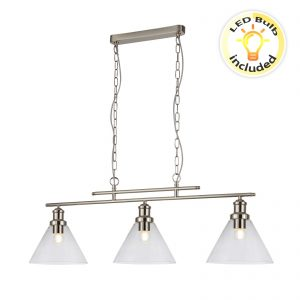 Searchlight-PYRAMID-3LT-PENDANT-SS-CLEAR-GLASS-SHADE-1277-3SS-01