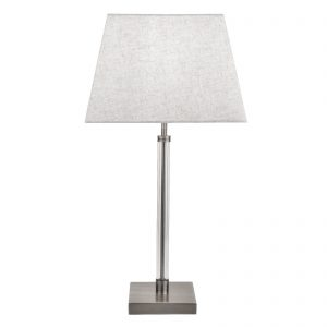 Searchlight-SIENA-TABLE-LAMP-WITH-CLEAR-CYCLINDER-FRAME-SATIN-NICKEL-7731SN-01