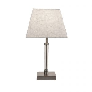 Searchlight-SIENA-TABLE-LAMP-WITH-CLEAR-CYLINDER-CENTRE-SATIN-NICKEL-7730SN-01