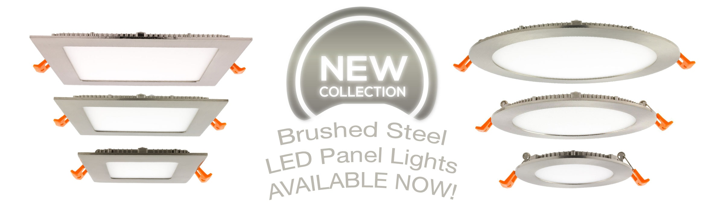 brushed-steel-led-panel-lights-available