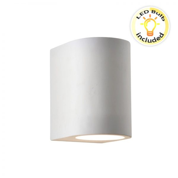 Searchlight-GYPSUM-G9-WHITE-CURVED-CYLINDER-PLASTER-WALL-LIGHT-8436-01