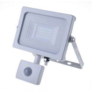 V-TAC-20W-SMD-PIR-SENSOR-SLIM-FLOODLIGHT-6000K-WHITE-BODY-5806-01