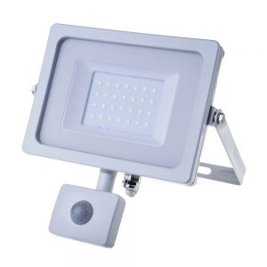 V-TAC-30W-SMD-PIR-SENSOR-SLIM-FLOODLIGHT-3000K-WHITE-BODY-5822-01