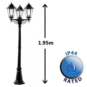 MiniSun-Traditional-Victorian-Style-1.95m-Black-3-Way-IP44-Outdoor-Garden-Lamp-Post-Light-17246-01-1