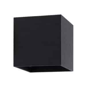 Black-6W-Eros-LED-Up-Down-Wall-Light-01