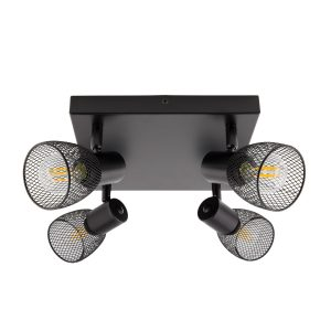 Black-Adjustable-Grid-Ceiling-Light-with-4-Spotlights-LT-GR4F-E14-01