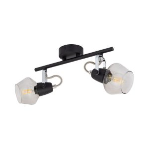 Black-Adjustable-Sipi-Ceiling-Light-with-2x-Spotlights-LO-SP2F-E14-01