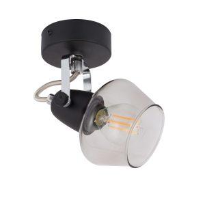 Black-Adjustable-Sipi-Light-with-a-Spotlight-AO-SP1F-E14-01
