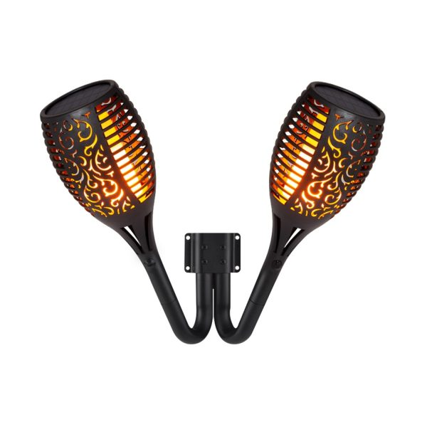 Double-Solar-LED-Torch-Wall-Light-Flame-Effect-APL2-ANT-LSLLP-01