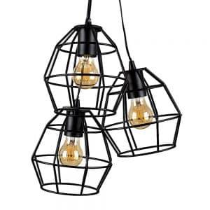 MiniSun-Angus-3-Way-Satin-Black-Basket-Ceiling-Electric-Pendant-21089-01