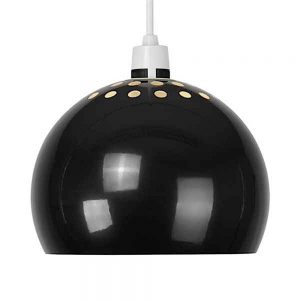 MiniSun-Mini-Arco-Metal-NE-Pendant-Shade-Gloss-Black-16118-01
