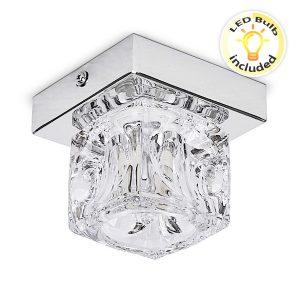 MiniSun-Mini-Ritz-Single-Ceiling-Light-Ice-Cube-Shade-17327-01