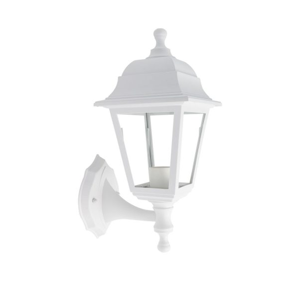 White-Mini-Villa-Wall-Light-with-Lower-Support-APL-MVLL-INF-E27-B-02